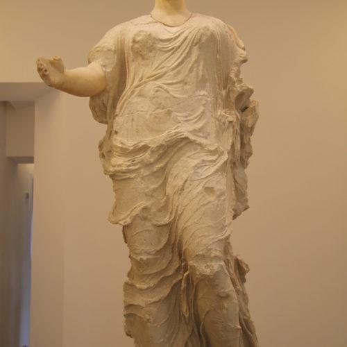 Statua di divinità femminile, V sec. a.C., Museo Archeologico Regionale di Aidone